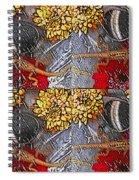 Lizards In The Rain Spiral Notebook