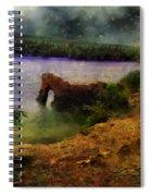 Lake Of Stars Spiral Notebook