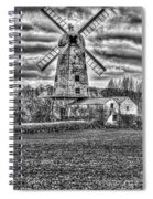 Llancayo Mill Usk 4 Mono Spiral Notebook