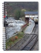 Llangollen Train Station Spiral Notebook