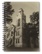 Llano County Courthouse - Vintage Spiral Notebook