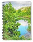 Llano River Scenic Spiral Notebook