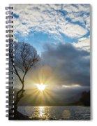 Llyn Padarn Sunburst Spiral Notebook