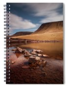 Llyn Y Fan Fach Black Mountain Spiral Notebook