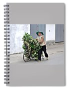 Loaded Bicycle Spiral Notebook