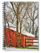 Loafing Shed Spiral Notebook