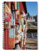 Lobster Buoy On Motif 1, Rockport, Ma Spiral Notebook