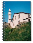 Lobster Cove Lighthouse Spiral Notebook