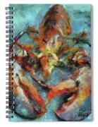 Lobster Spiral Notebook