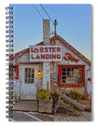 Lobster Landing Sunset Spiral Notebook