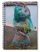 Lobster Pots Spiral Notebook