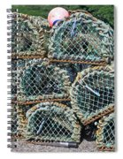 Lobster Pots Spiral Notebook