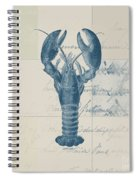 Lobster - J122129185-1211 Spiral Notebook