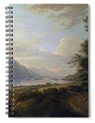 Loch Awe. Argyllshire Spiral Notebook