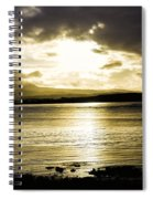 Loch Bracadale Sunset Spiral Notebook