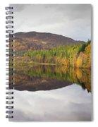 Loch Faskally Autumn Spiral Notebook