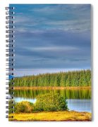 Loch Kinardochy Reflections Spiral Notebook