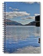 Loch Lomond And The Ben Spiral Notebook