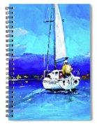 Loch Lomond Sail Spiral Notebook