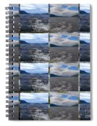 Loch Ness In Squares Spiral Notebook