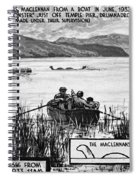 Loch Ness Monster, 1934 Spiral Notebook