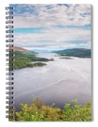 Loch Riddon And Isle Of Bute Spiral Notebook