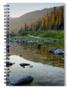 Lochsa Morning Spiral Notebook