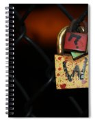 Locked Questions Spiral Notebook
