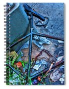 Locked Up Spiral Notebook
