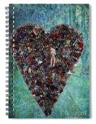Locket Heart-3 Spiral Notebook
