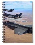 Lockheed Martin F-35 Lightning II Spiral Notebook