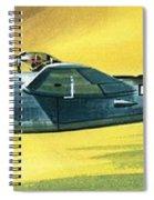 Lockheed P-38j Lightning Spiral Notebook