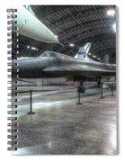 Lockheed Yf-12a Spiral Notebook