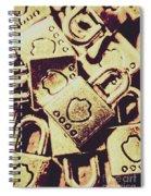 Locks From Sheriff Penitentiary Spiral Notebook