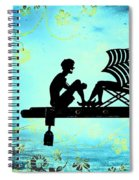 Locks Of Love Spiral Notebook