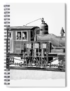 Locomotive, 1893 Spiral Notebook