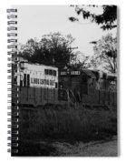 Locomotive 8241 Spiral Notebook