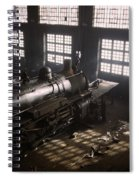 Locomotive Repair Shop - December 1942 Spiral Notebook
