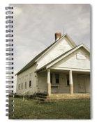Locust Prairie One Room School Aged Spiral Notebook