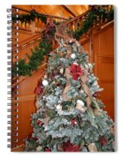 Lodge Lobby Tree Spiral Notebook
