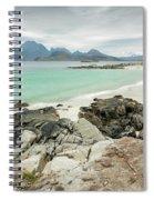 Lofoten Island Beach Scene Spiral Notebook