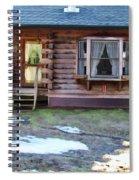Log Cabin 1 Spiral Notebook