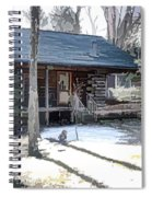 Log Cabin 2 Spiral Notebook