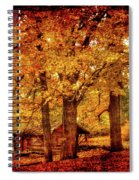 Log Cabin At  Ringwood Manor New Jersey Spiral Notebook