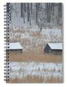 Log Cabins In Valley Forge Spiral Notebook