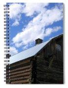 Log Clydesdale Barn Spiral Notebook