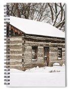 Log Home Spiral Notebook