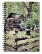 Log Structure For Storage Spiral Notebook