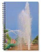 Logan Circle Fountain 2 Spiral Notebook