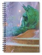 Logan Circle Fountain 5 Spiral Notebook